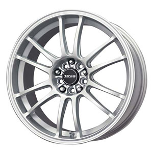 Drag DR 38 Silver Wheel Packages