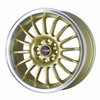 Drag DR 41 Gold with Machined Lip 15 X 7 Inch Wheels