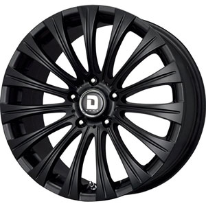 Drag DR 43 Black Wheel Packages