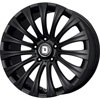 Drag DR 43 Black 17 X 8 Inch Wheels
