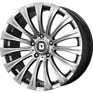 Drag DR 43 Hyper Black Wheel Packages