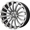 Drag DR 43 Hyper Black 17 X 8 Inch Wheels