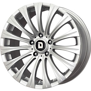 Drag DR 43 Silver Wheel Packages