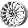 Drag DR 43 Silver 17 X 8 Inch Wheels