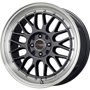 Drag DR 44 Gun Metal Machined Lip Wheel Packages