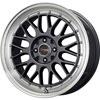 Drag DR 44 Gun Metal with Machined Lip 17 X 7.5 Inch Wheels