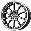 Drag DR 47 Gun Metal with Machined Lip 17 X 7 Inch Wheels