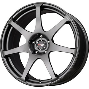 Drag DR 48 Charcoal Gray 17 X 8 Inch Wheels