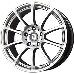 Drag DR 49 Hyper Silver Wheel Packages