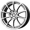 Drag DR 49 Hyper Silver 18 X 8 Inch Wheels