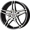 Drag DR 50 Flat Black Machined Face Wheel Packages