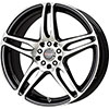 Drag DR 50 Gloss Black Machined Face Wheel Packages