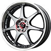 Drag DR 51 Gun Metal Machined Face 17 X 7 Inch Wheels