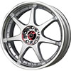 Drag DR 51 Silver Machined Face 17 X 7 Inch Wheels