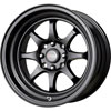 Drag DR 54 Flat Black 15 X 8.25 Inch Wheels
