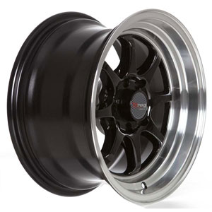 Drag DR 54 Gloss Black Machined Lip Wheel Packages