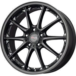 Drag DR 56 Flat Black Wheel Packages