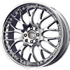 Drag DR 19 Chrome 17 X 7.5 Inch Wheels