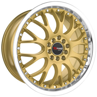 Drag DR 19 Gold Machined Lip Wheel Packages