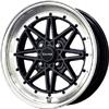 Drag DR 20 Gloss Black Machined Lip 15 X 7 Inch Wheels