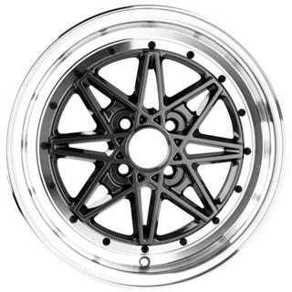 Drag DR 20 Gun Metal Machined Lip Wheel Packages