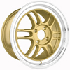 Drag DR 21 Gold Machined Lip Wheel Packages