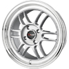 Drag DR 21 Silver Machined Lip 15 X 7 Inch Wheels