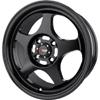 Drag DR 23 Flat Black Wheel Packages