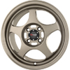 Drag DR 23 Flat Bronze 16 X 7 Inch Wheels
