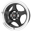 Drag DR 23 Gloss Black Machined Lip 17 X 7 Inch Wheels