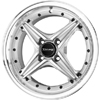 Drag DR 30 Silver Machined Face 15 X 7 Inch Wheels