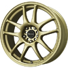 Drag DR 31 Flat Gold 15 X 6.5 Inch Wheels