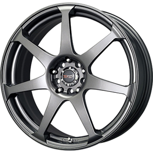 Drag DR 33 Charcoal Gray 17 X 7.5 Inch Wheels