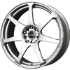 Drag DR 33 Silver 17 X 7.5 Inch Wheels