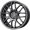 Drag DR 34 Charcoal Gray 17 X 7.5 Inch Wheels
