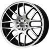 Drag DR 34 Flat Black Machined Face 17 X 7.5 Inch Wheels