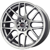 Drag DR 34 Silver Machined Lip Wheel Packages