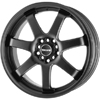 Drag DR 35 Flat Black 17 X 7.5 Inch Wheels