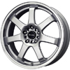 Drag DR 35 Silver Machined Lip 17 X 7.5 Inch Wheels