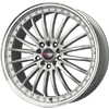 Drag DR 36 Silver Machined Lip 17 X 7.5 Inch Wheels