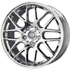 Drag DR 37 Chrome 17 X 7.5 Inch Wheels