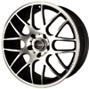 Drag DR 37 Flat Black Machined Face 17 X 7.5 Inch Wheels