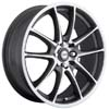 Focal F10 177 Grey Machined 17 Inch Wheel