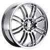 Focal F16 163 Chrome 17 Inch Wheel