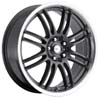 Focal F16 163 Gun Metal 16 Inch Wheel