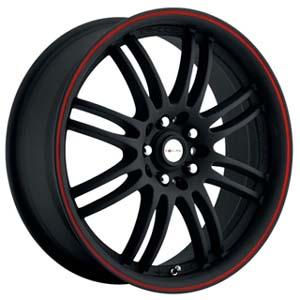 Focal F16 163 Matte Black 17 Inch Wheel