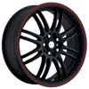 Focal F16 163 Matte Black 17 Inch Wheel