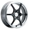 Focal F06 176 Black Machined 17 Inch Wheel