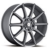 Focal F02 420 Anthracite Machined 17 X 7.5 Inch Wheel