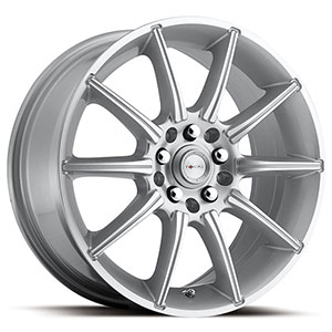 Focal F02 420 Silver Machined 17 X 7.5 Inch Wheel